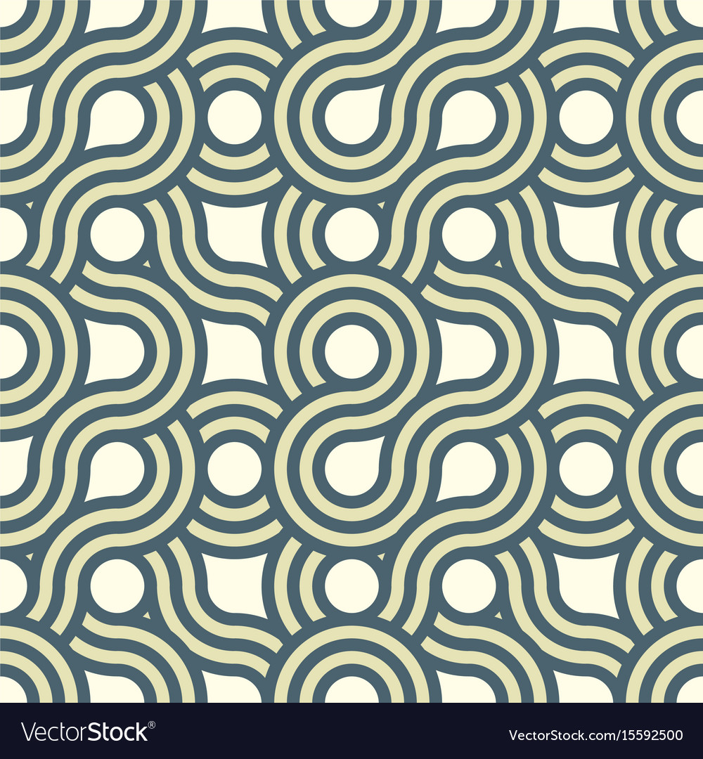 Seamless striped abstract pattern background vector image