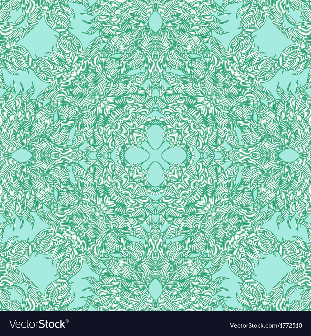 Luxury pattern with thin elegant lines vector image