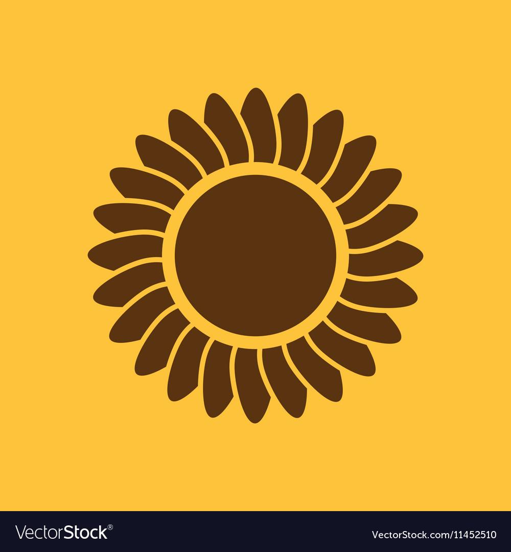 The sunshine icon Sunrise and sunshine weather