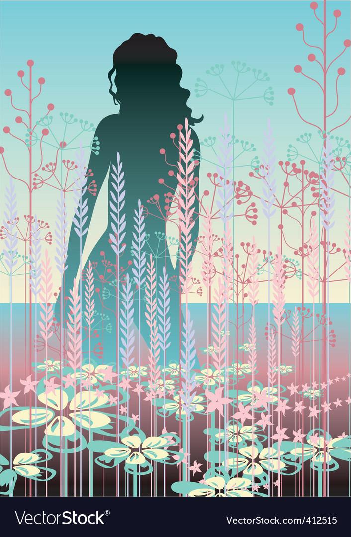 Pastel beauty vector image