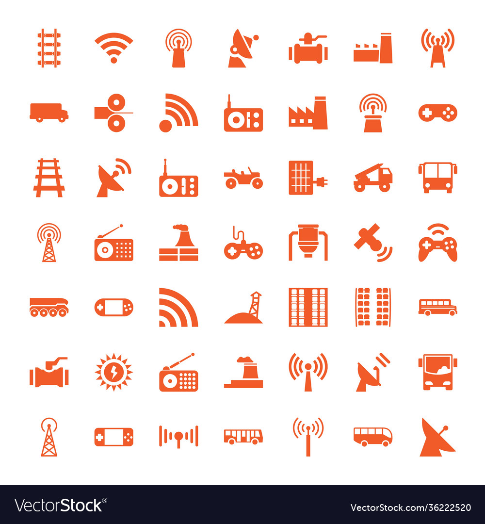 49 station icons
