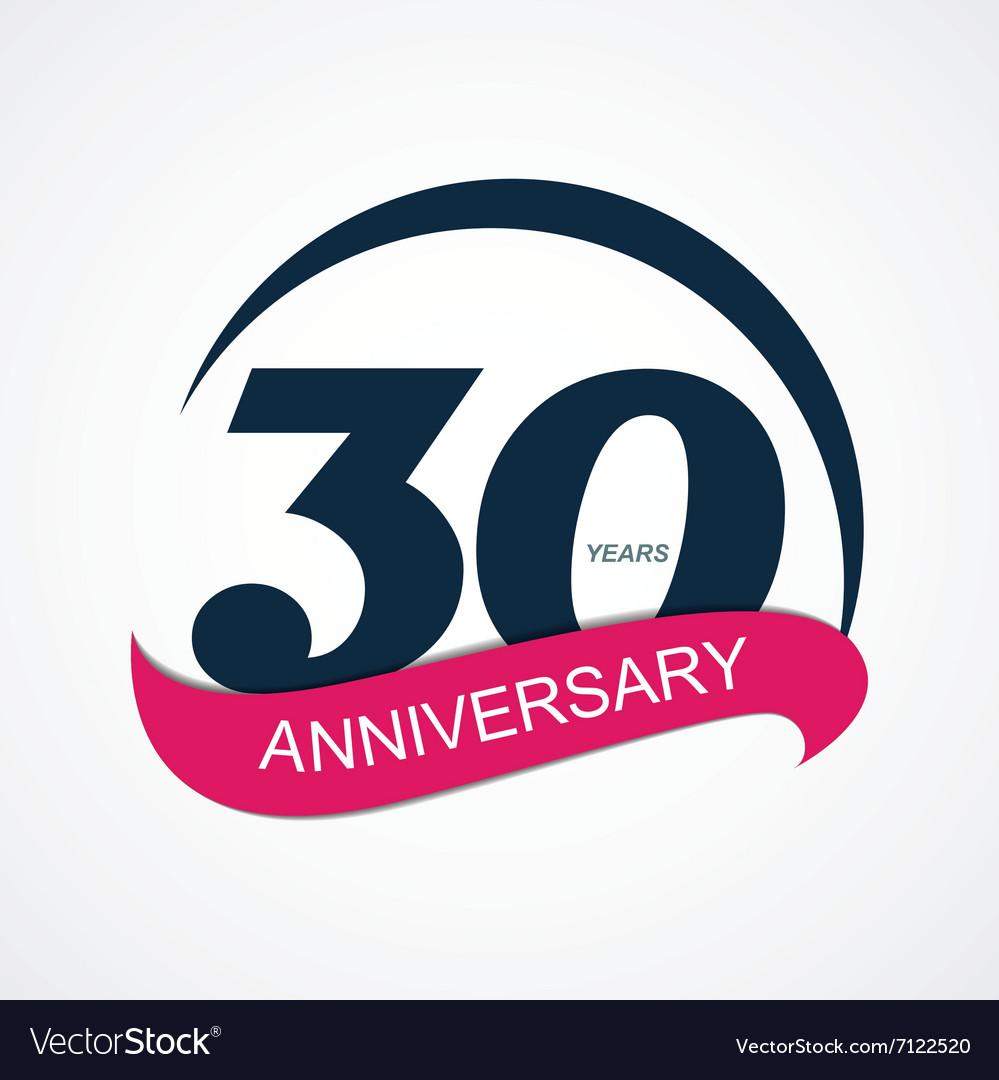 Template Logo 30 Anniversary