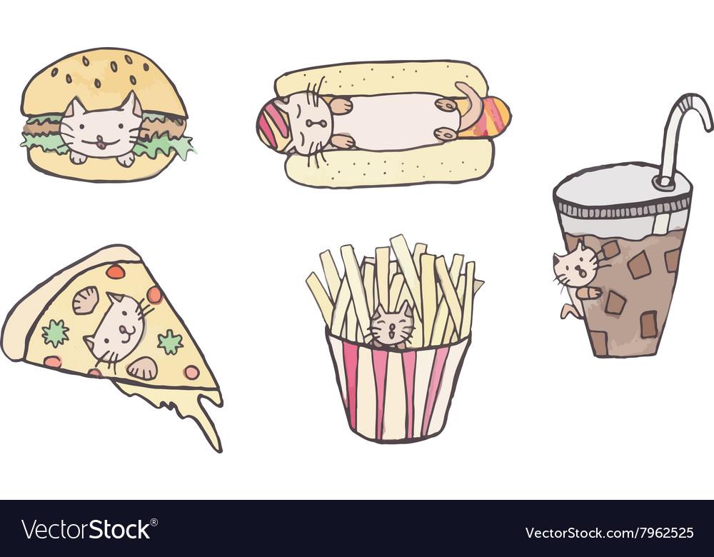 Cat fast food