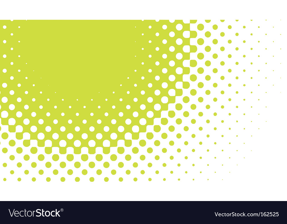 Halftone pattern vector image