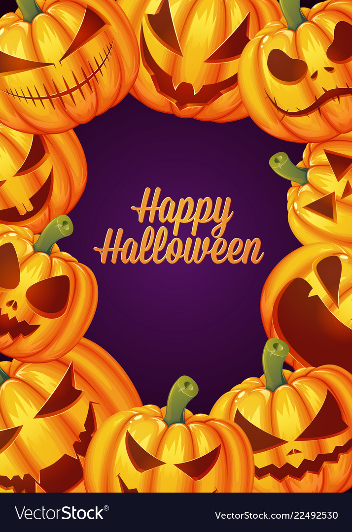 Halloween Poster Background Free.Happy Halloween Poster Background Card