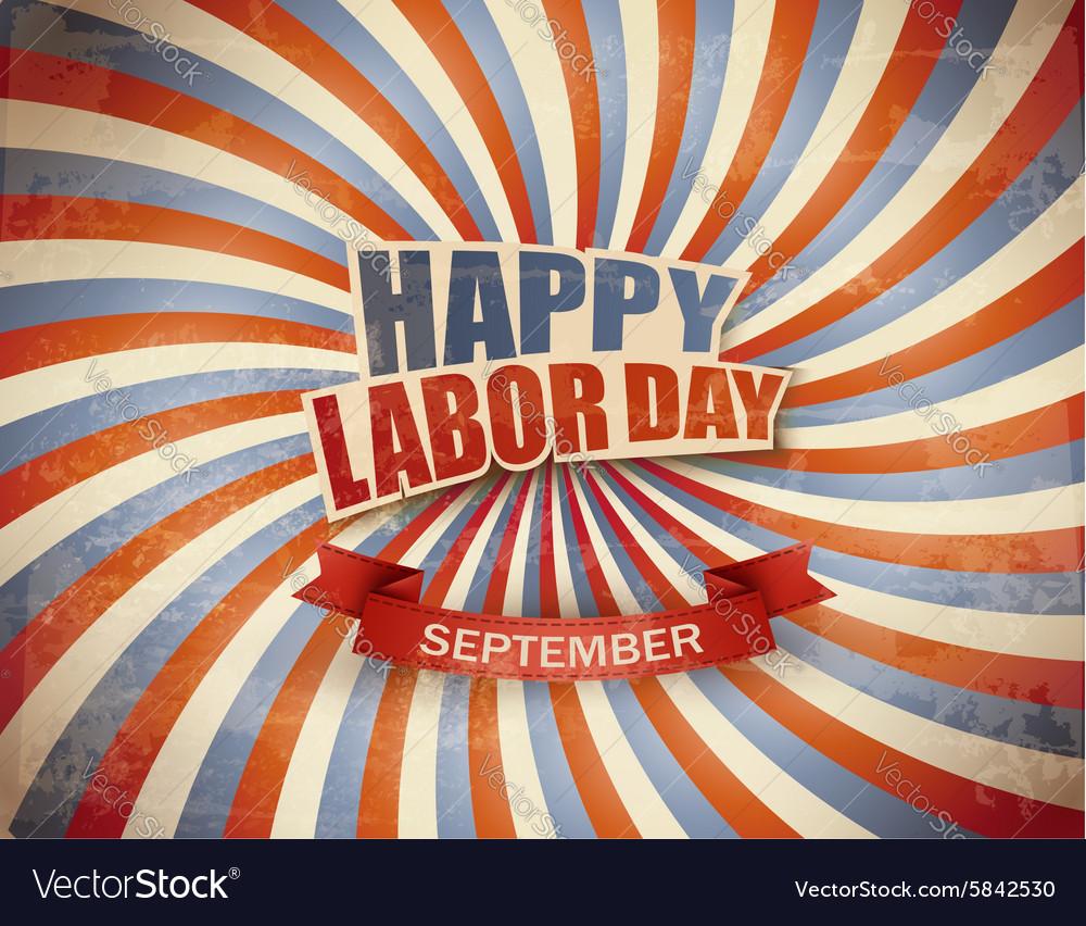 Labor day celebration background