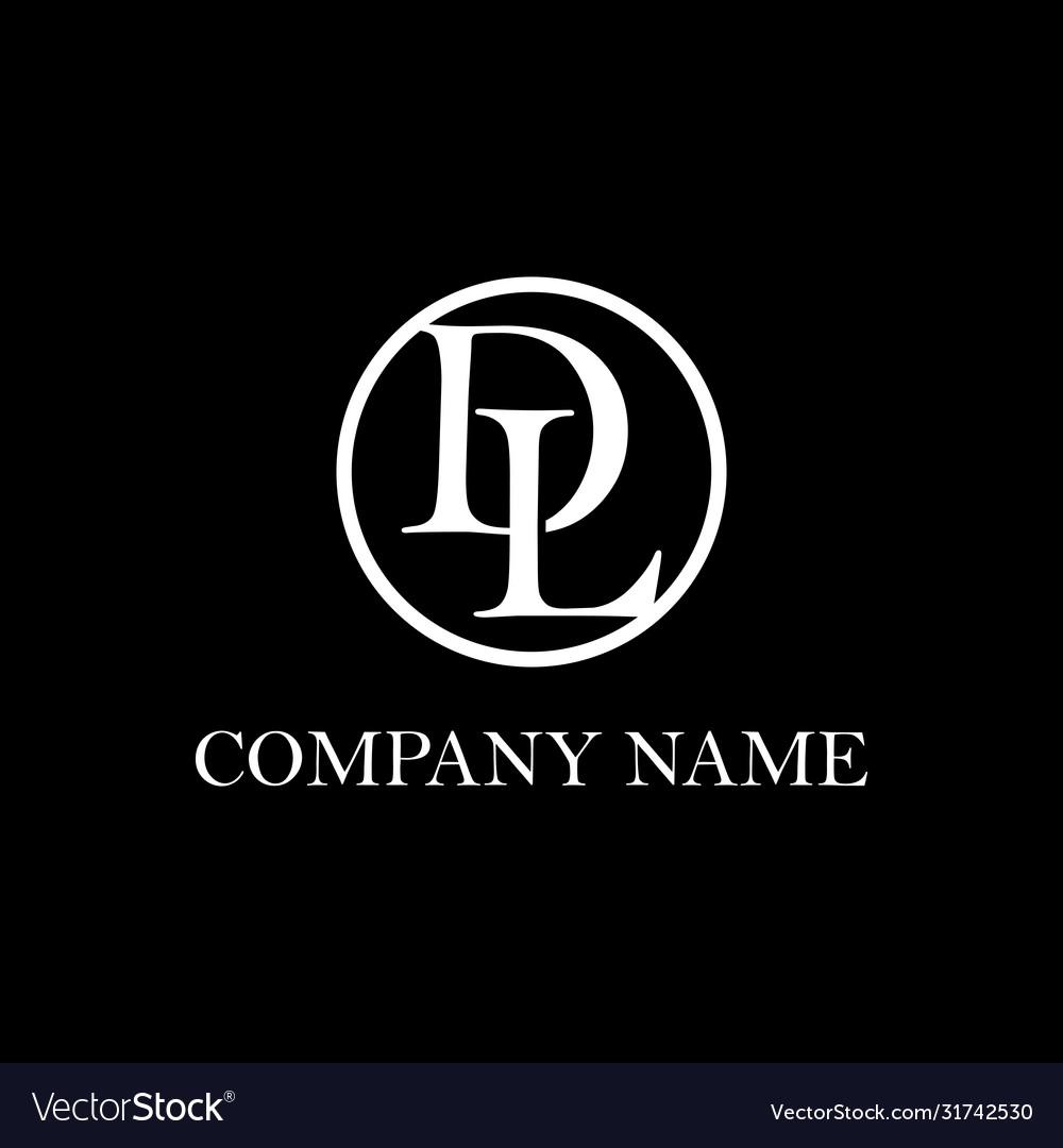 Letter Dl Logo Design Inspiration Clean And Vector Image