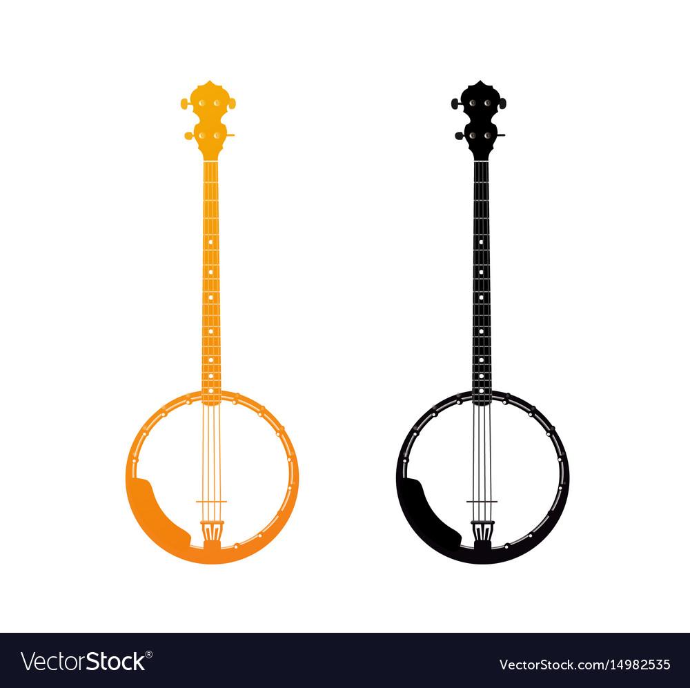 Golden icon of banjo