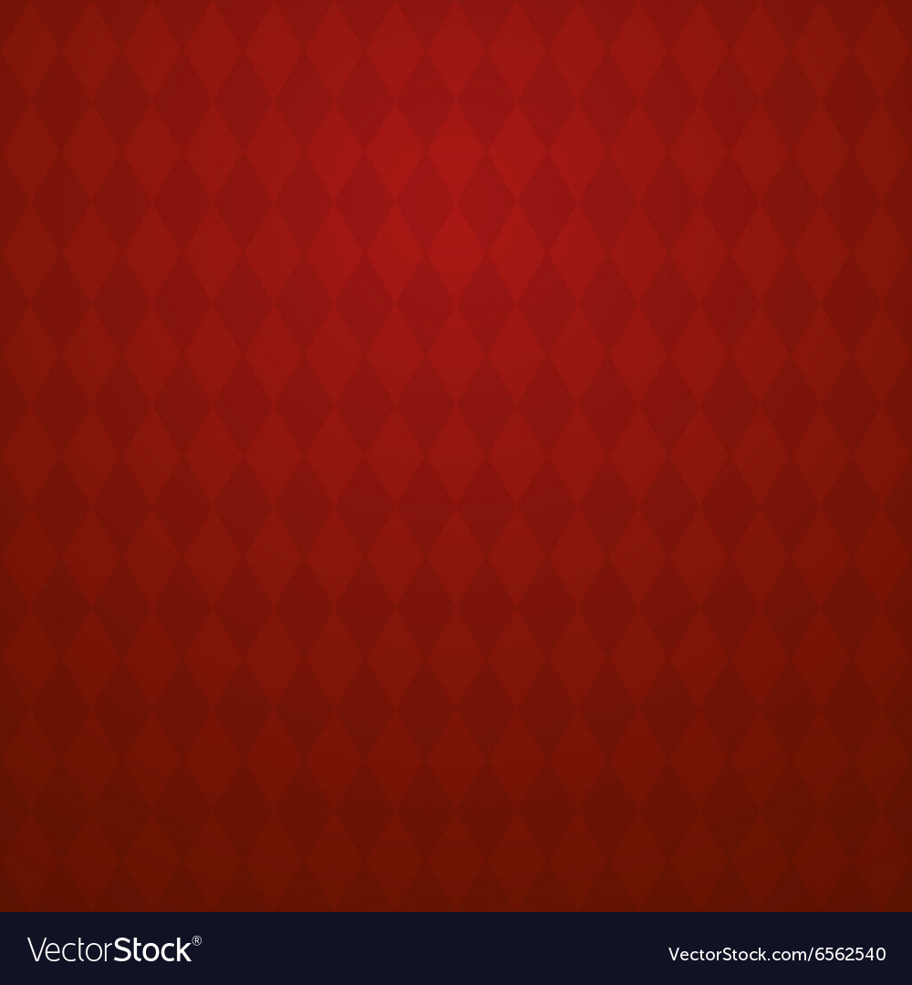 Background with light and dark red rhombus