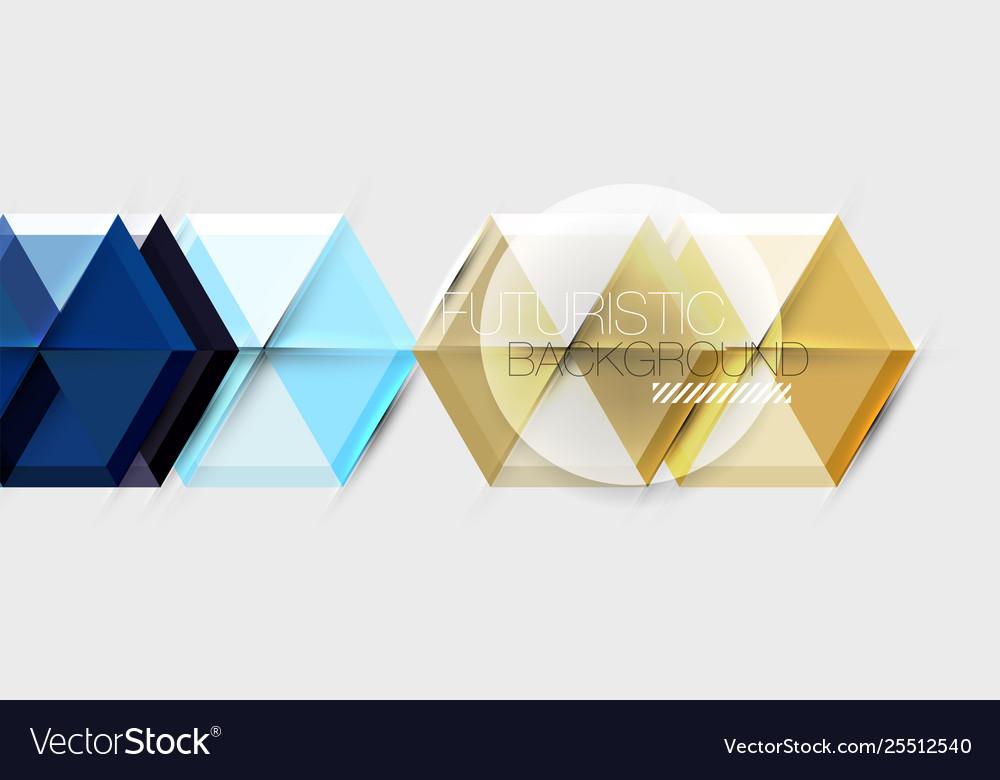 Hexagon abstract background geometrical modern
