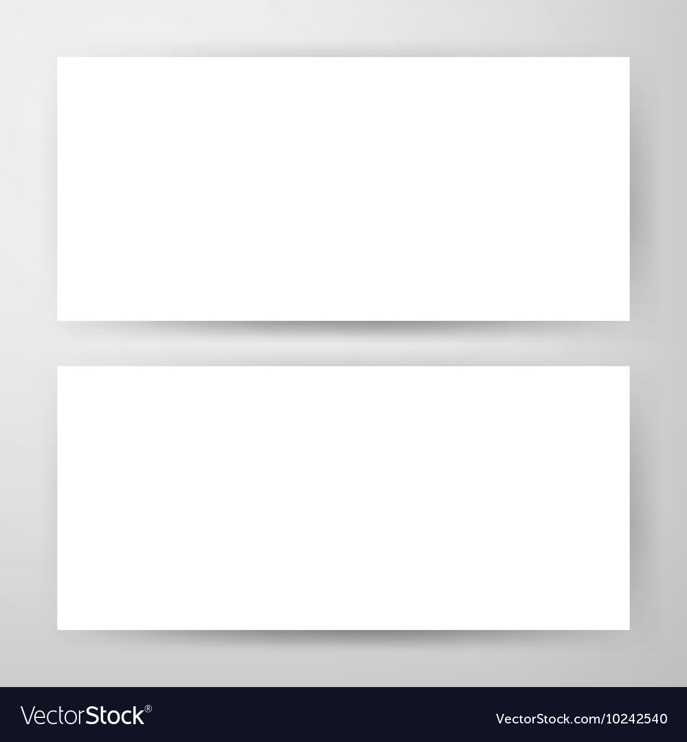 Two Horizontal Banners Mockup