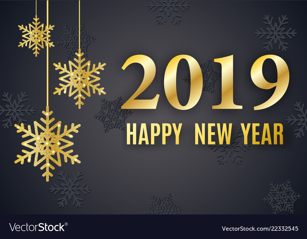 2019 new year background