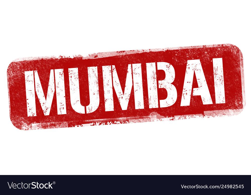 Mumbai sign or stamp