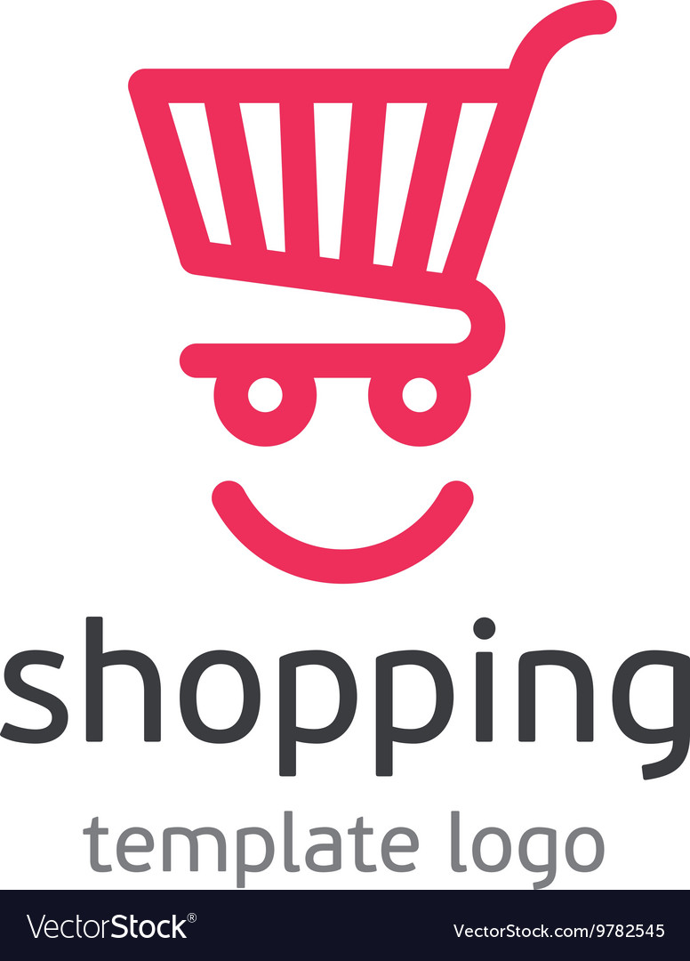 Shopping template logo