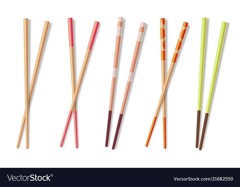 Chopsticks wooden asian eating sticks bamboo