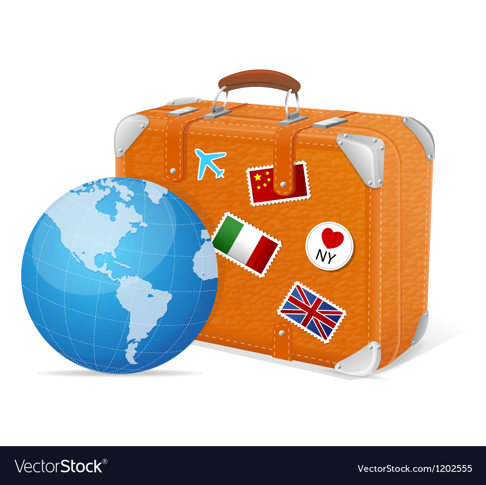 Traveling element baggage and globe