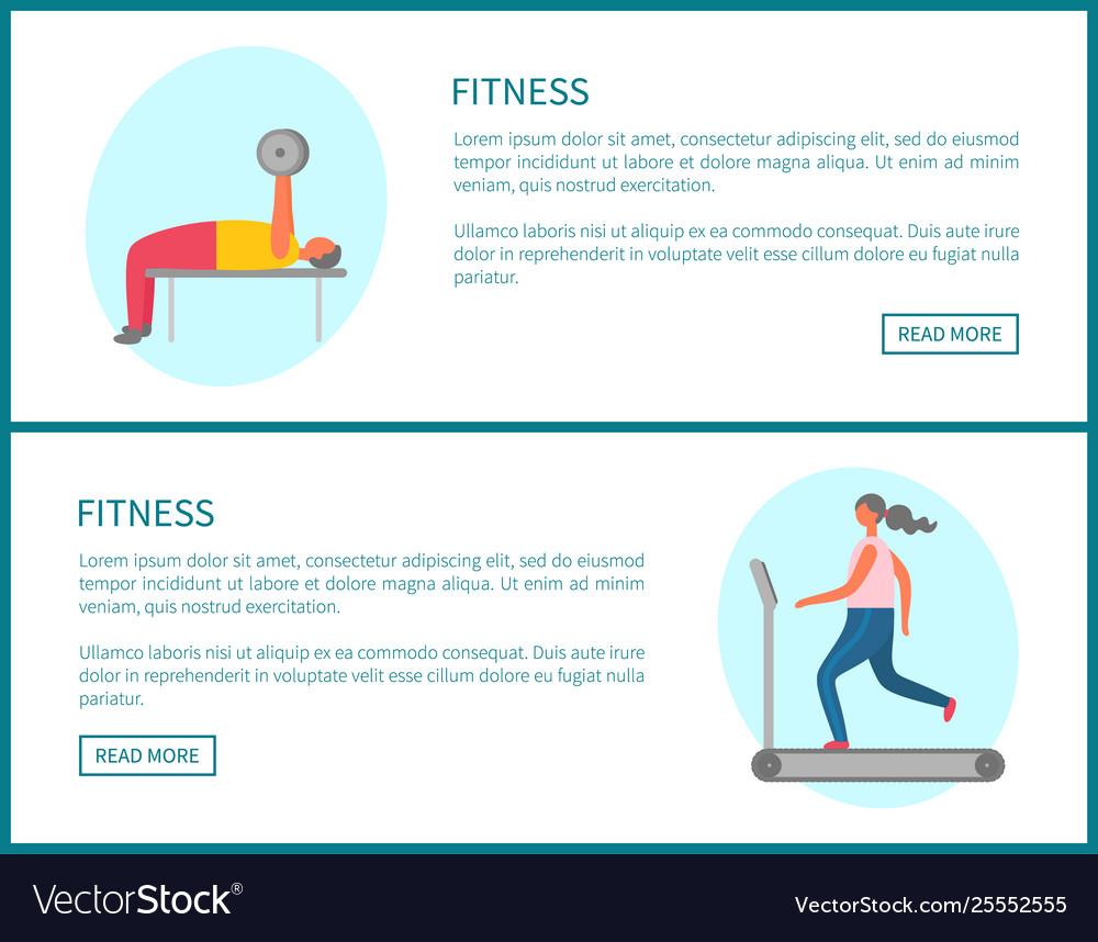 Treadmell and dumbbell online fitness
