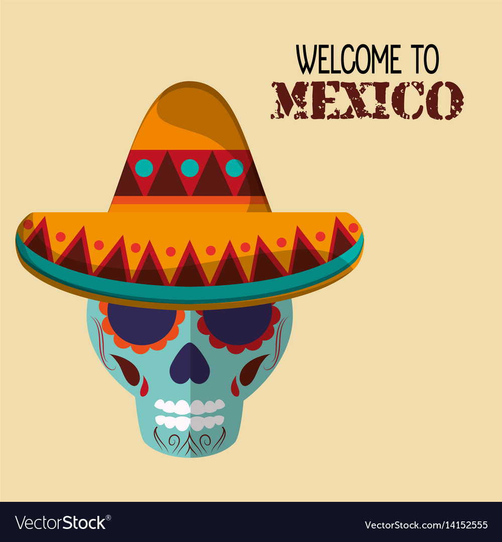 Welcome to mexico travel greeting