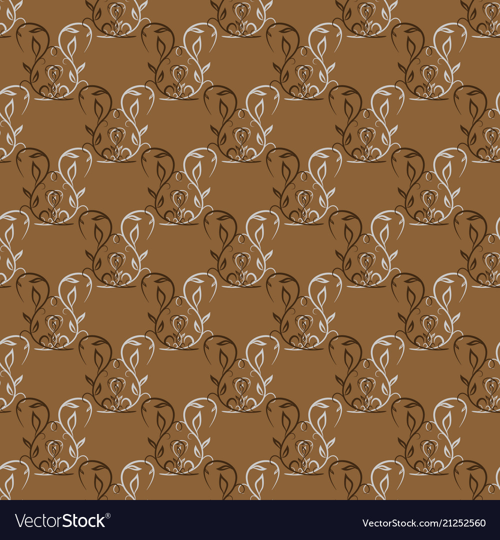 Twig seamless pattern