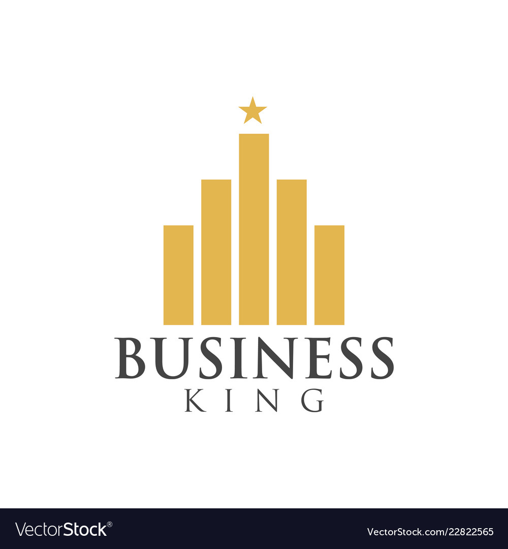 Business king graphic design template