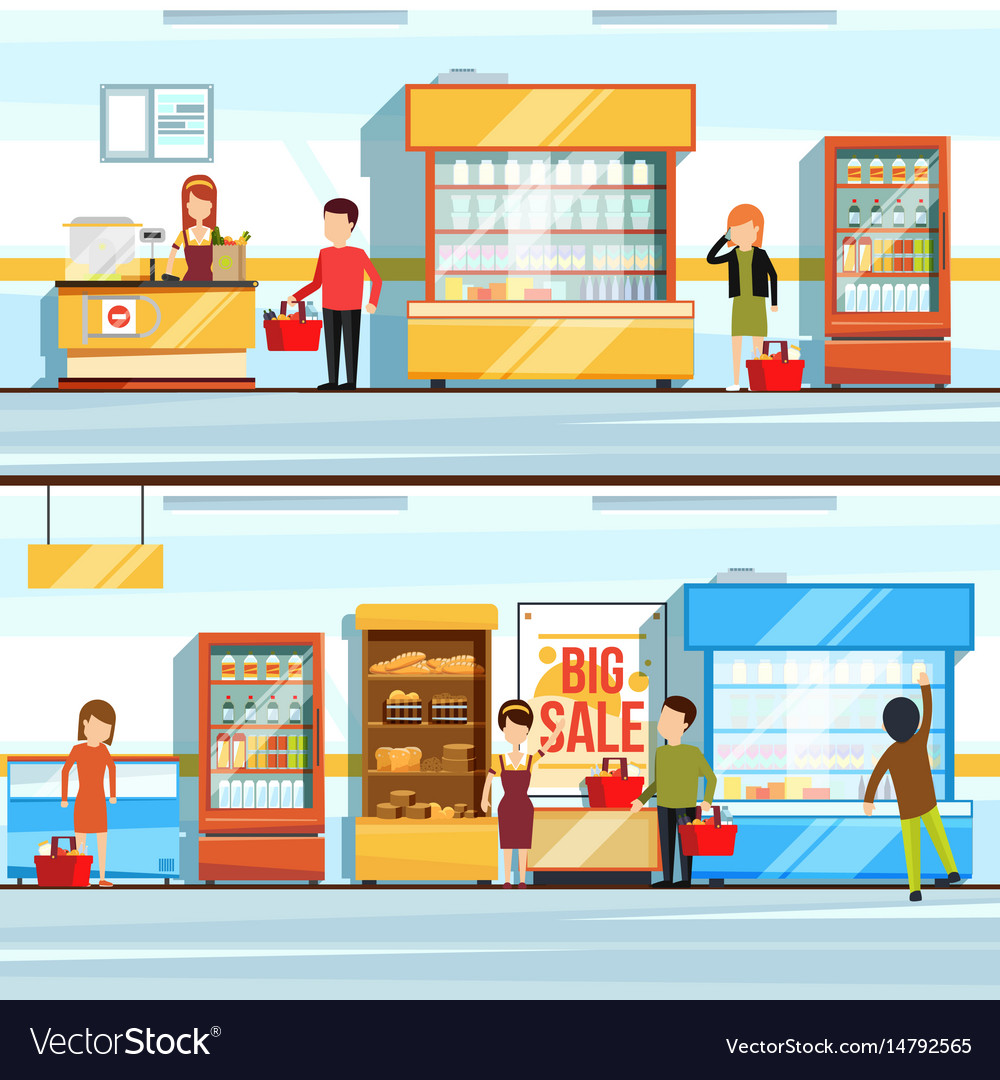 Concept of shopping peoples