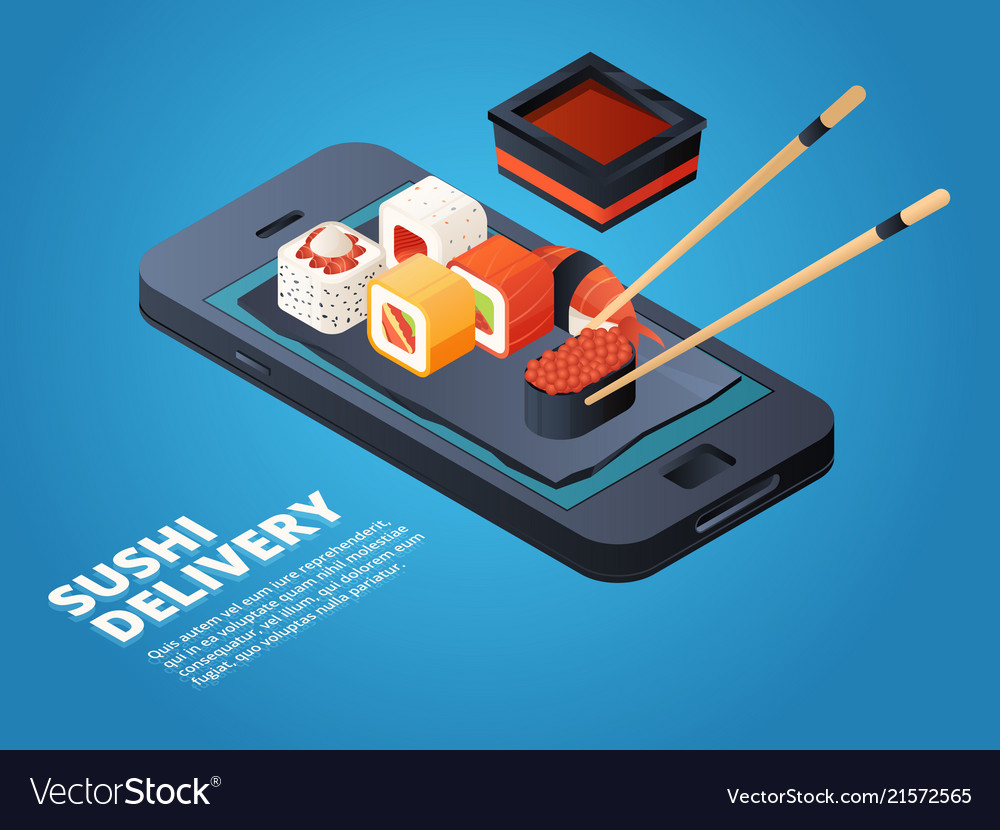 Sushi order online or telephone order various