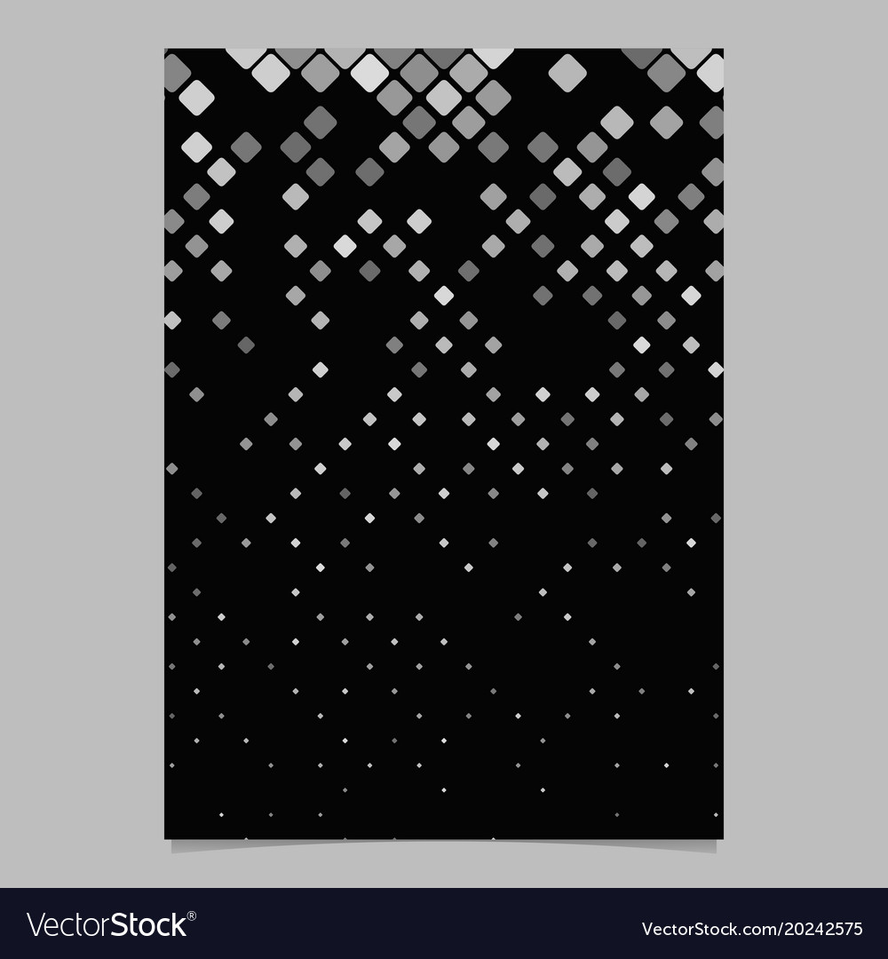 Geometrical diagonal rounded square pattern vector image
