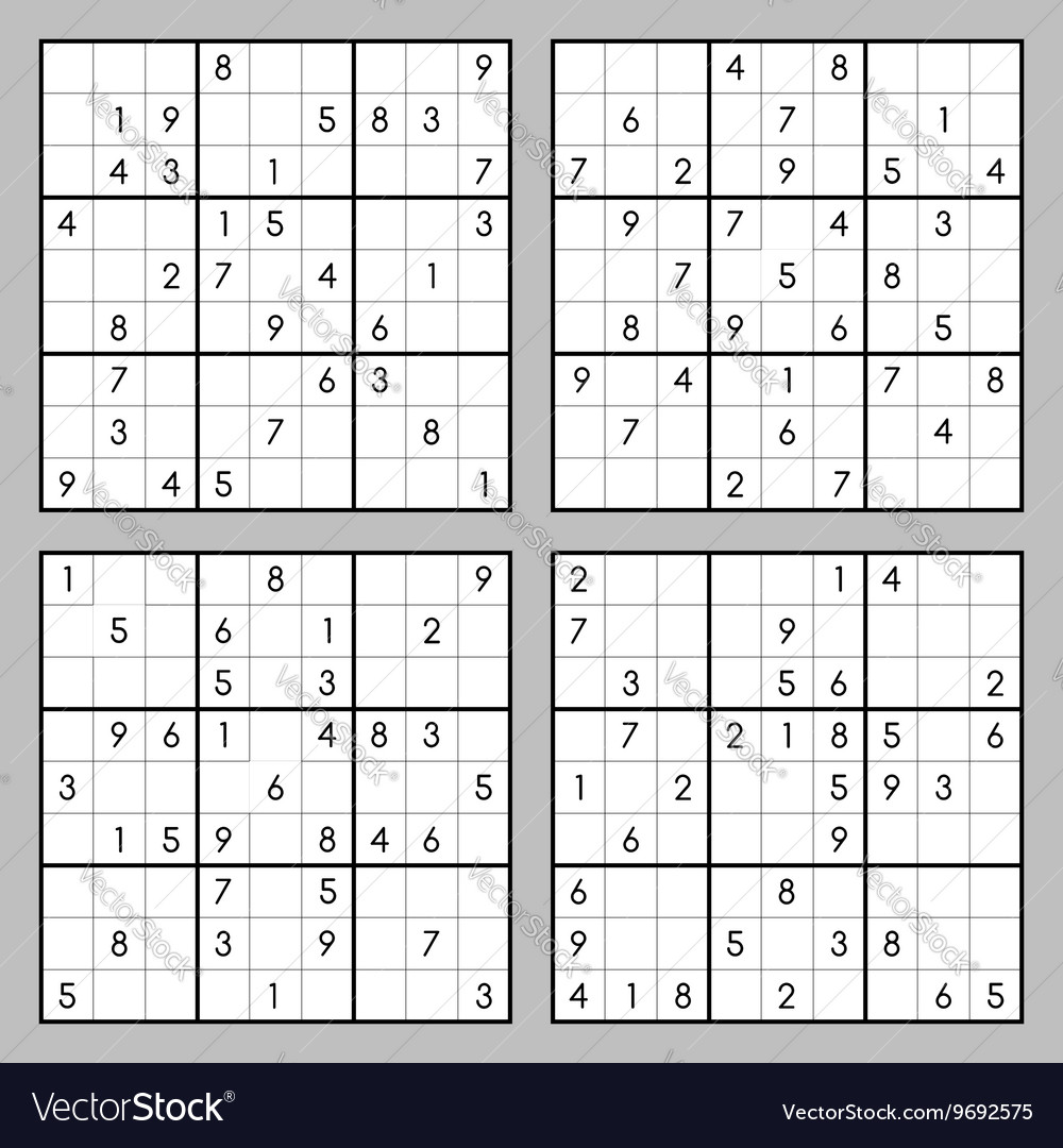 picture regarding Sudoku Printable Pdf titled Sudoku puzzles