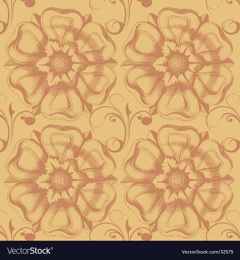 Victorian Wallpaper Royalty Free Vector Image Vectorstock