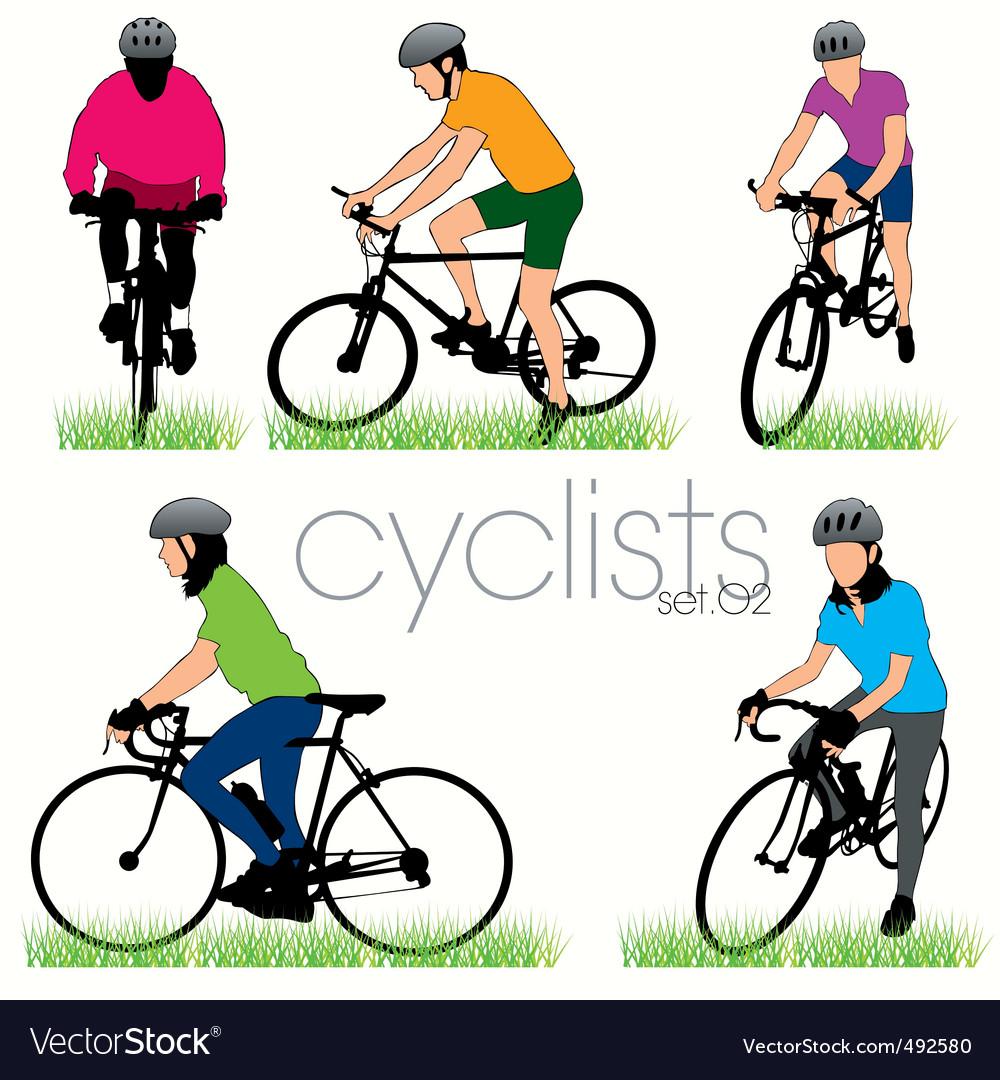 Cyclists 02