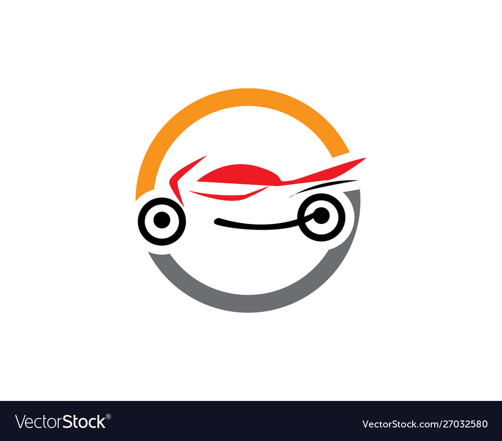 Motor cycle logo template