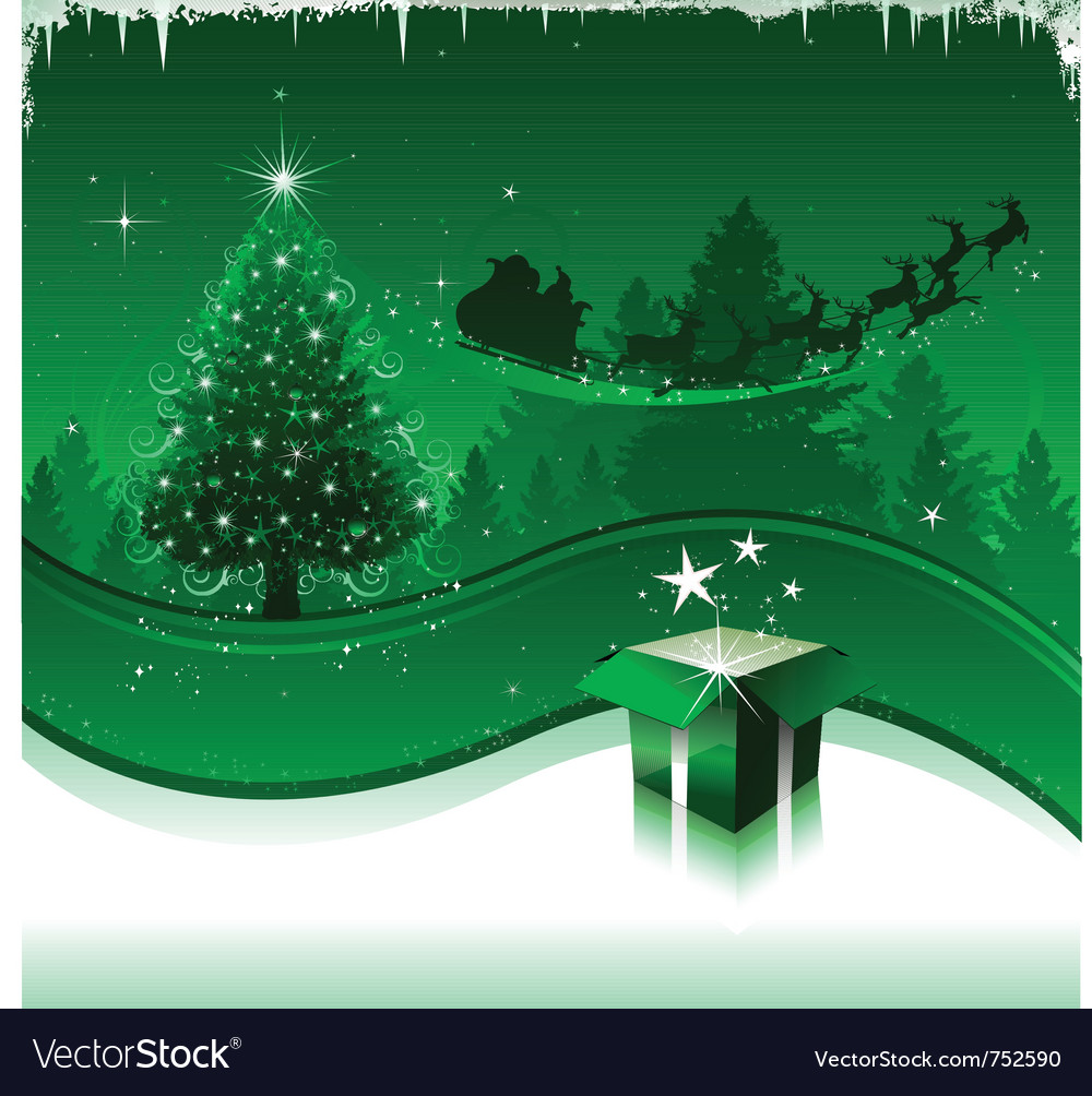 Christmas greeting card design background