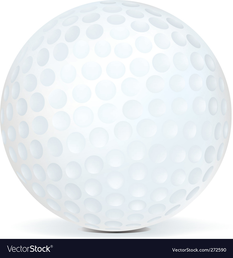 golf ball vector. Golf Ball Vector