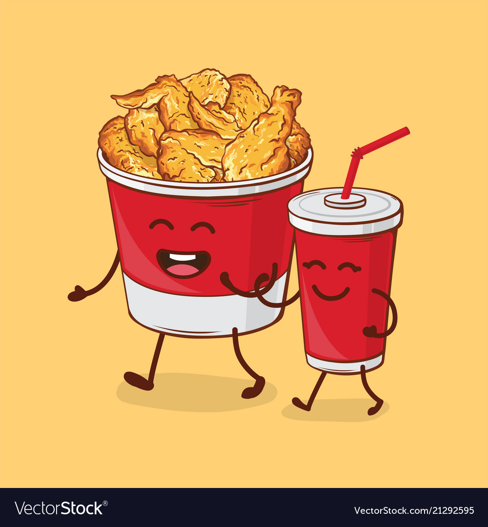 Friends forever chicken fried and cola