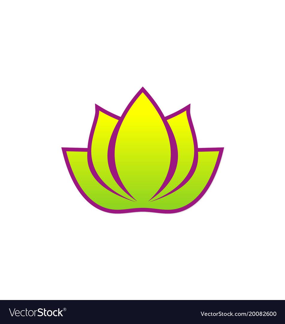 Lotus flower spa beauty logo royalty free vector image lotus flower spa beauty logo vector image izmirmasajfo