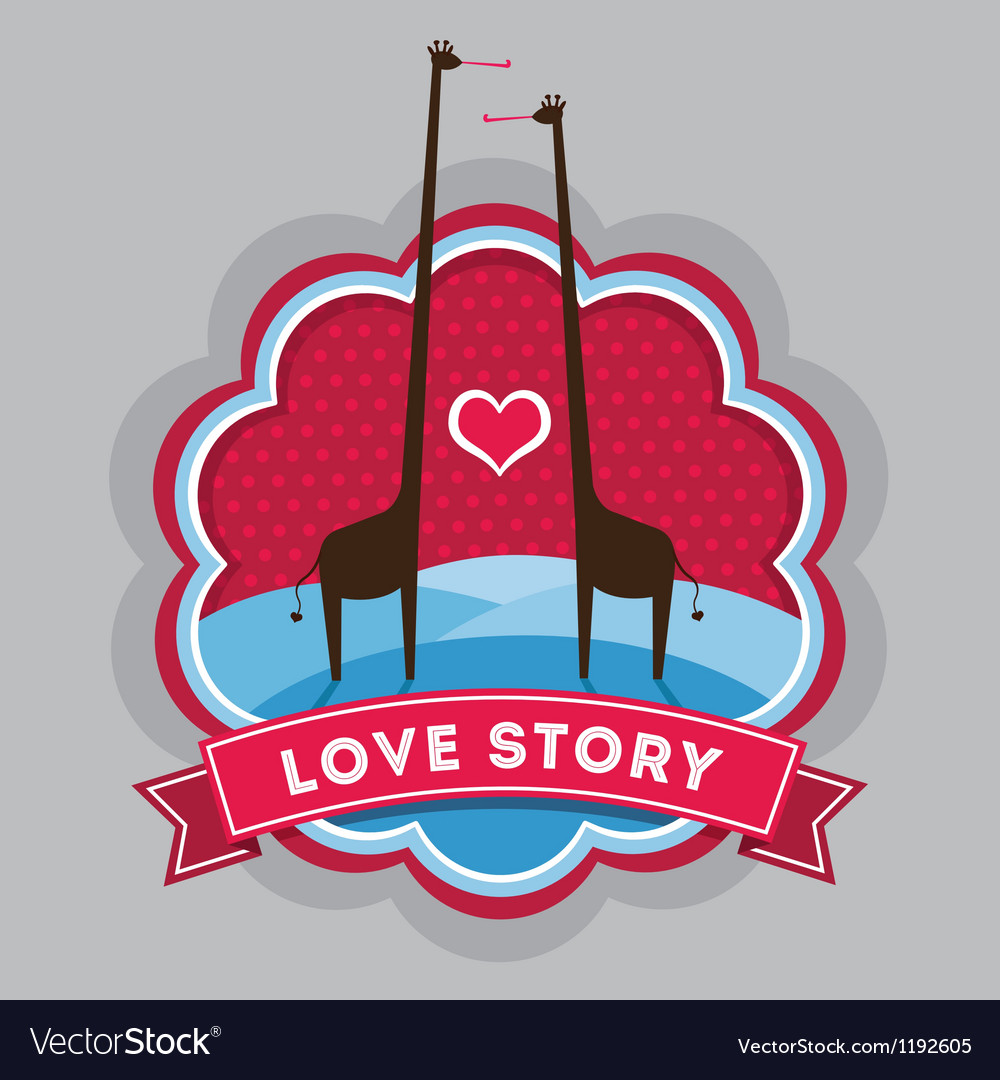 Giraffe love story