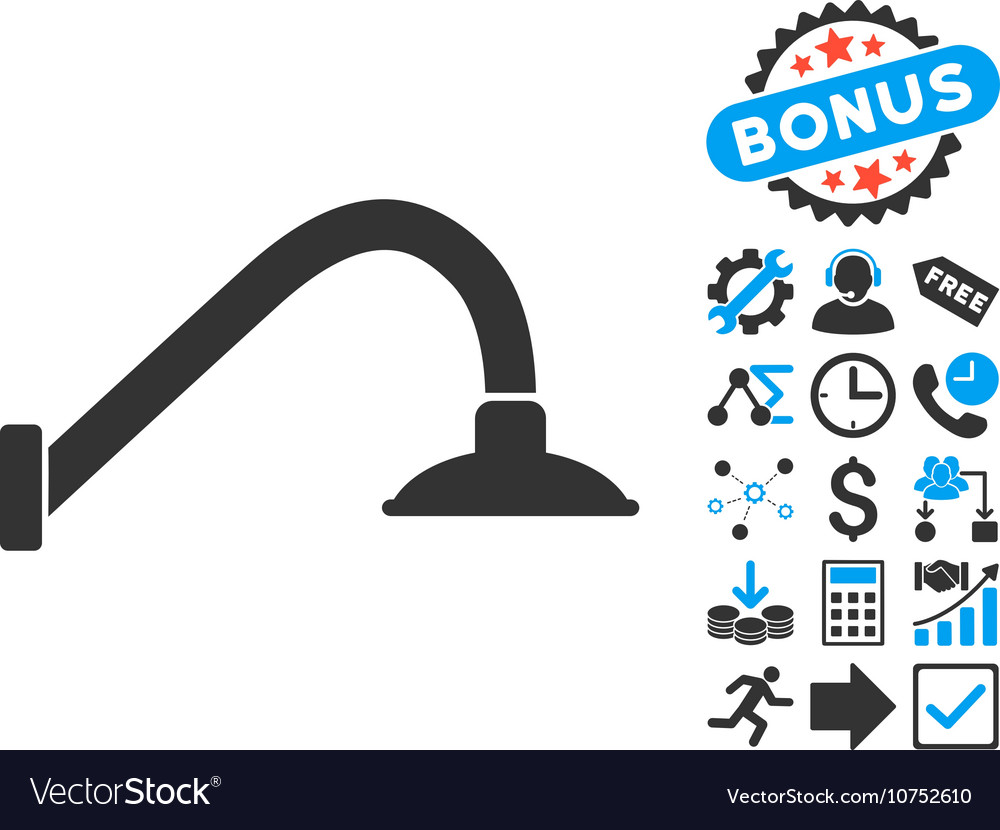 Tap Mixer Flat Icon with Bonus