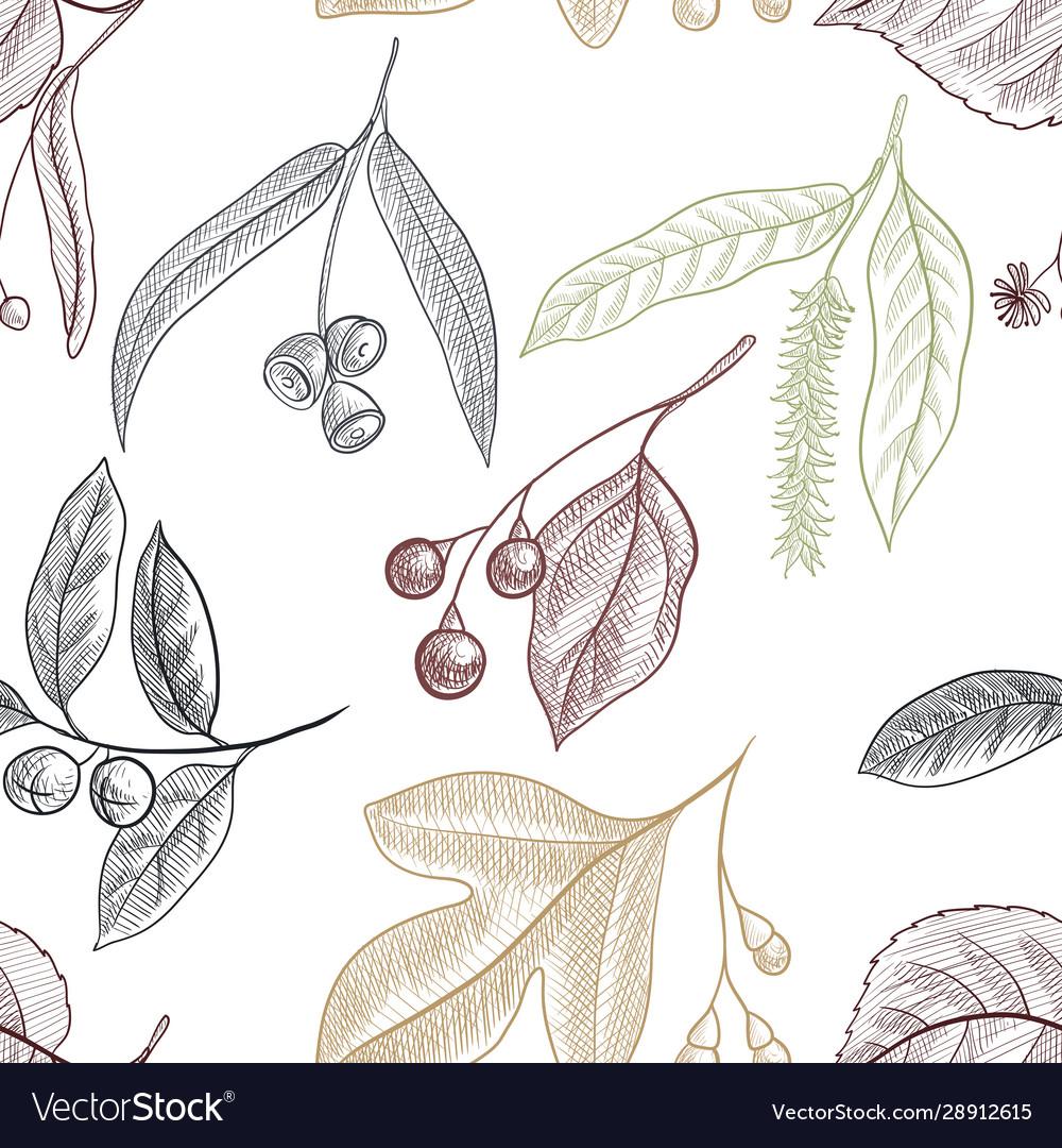 Drawing seamless pattern