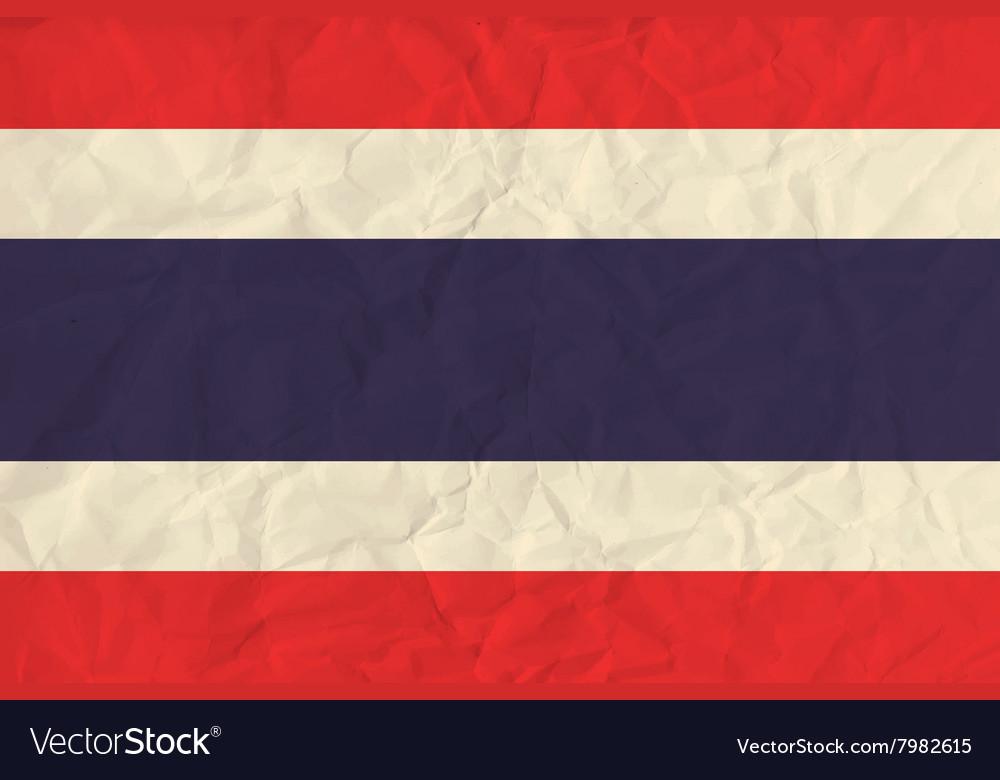 Thailand paper flag