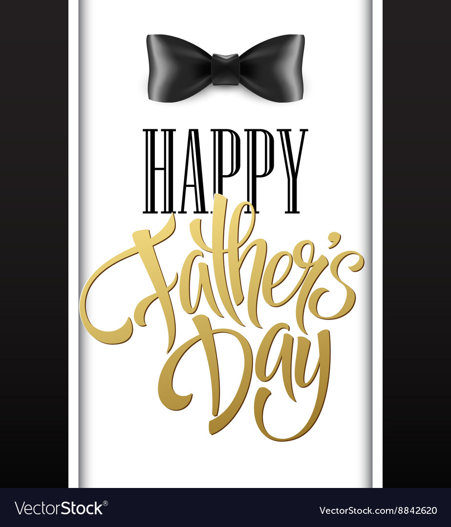 Happy fathers day background with greeting