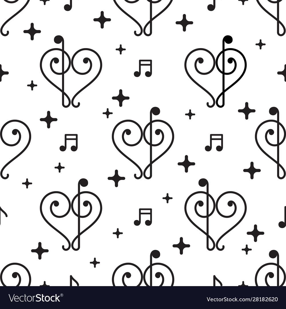 Love music pattern