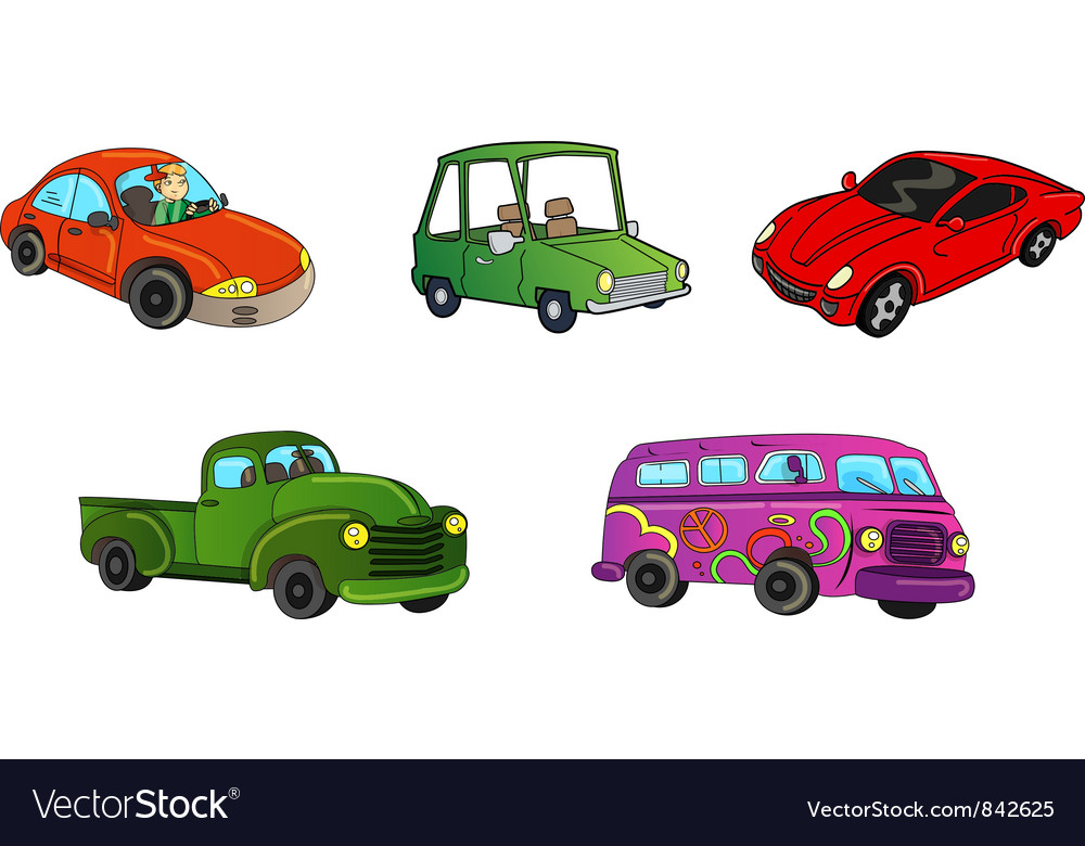 Cars trucks collection