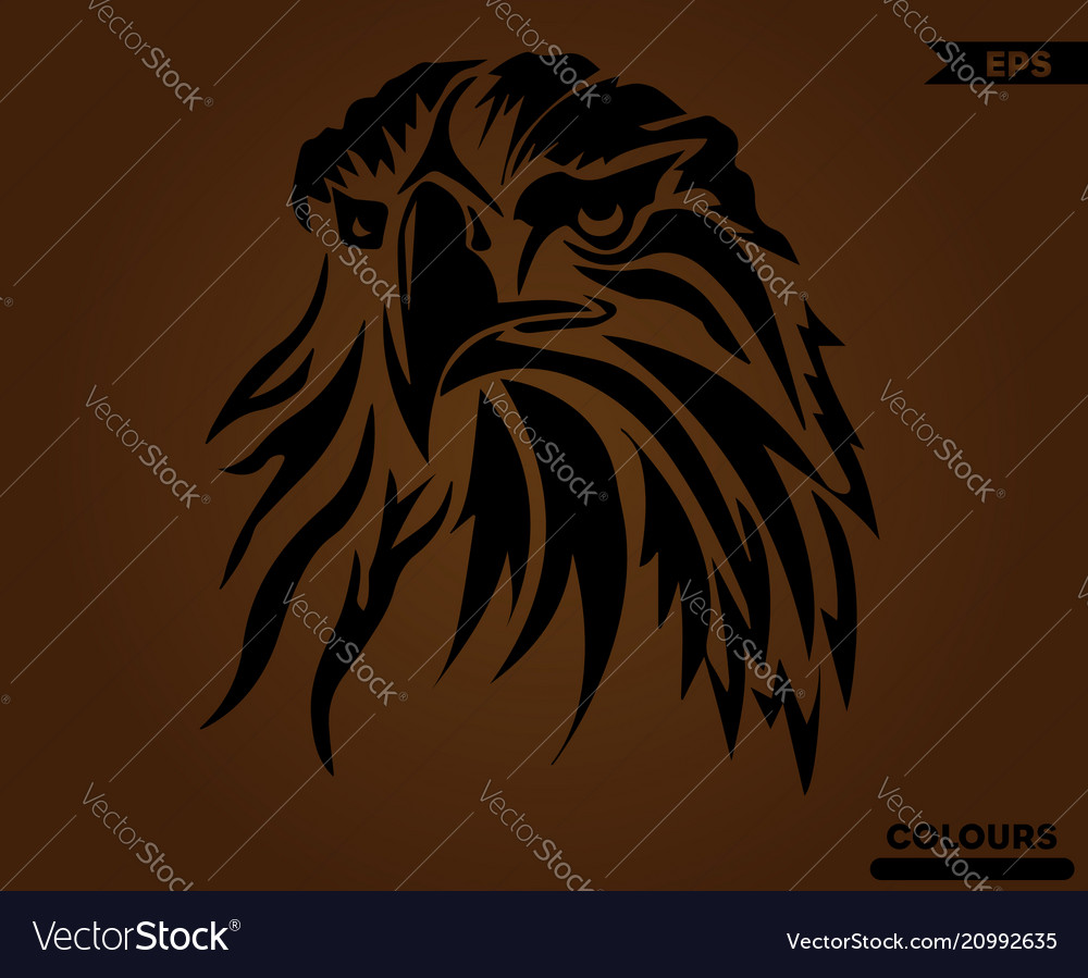 Angry american eagle