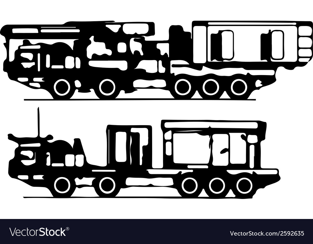 Classification of trucks silhouettes