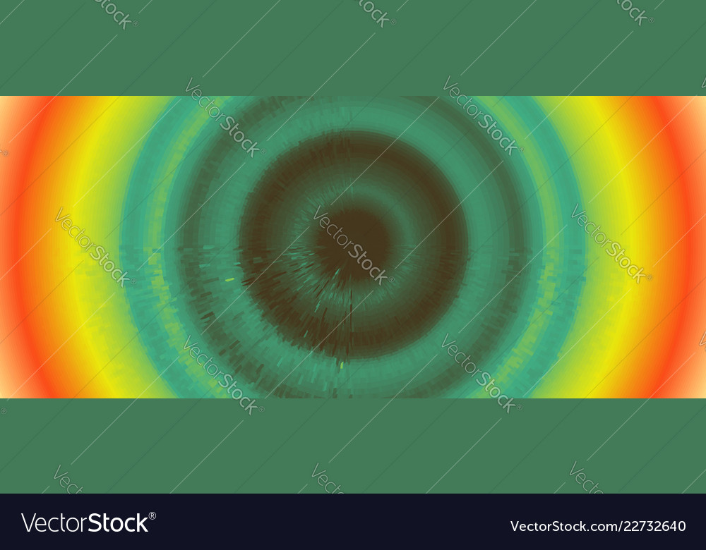 Abstract circular background with dynamic rays