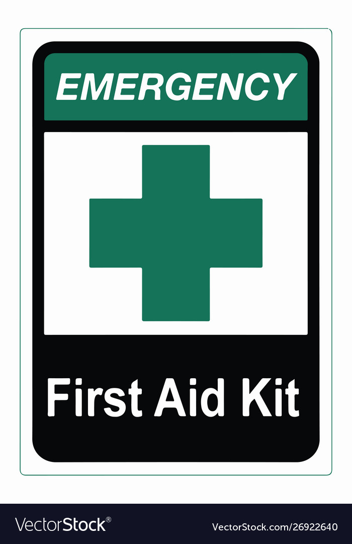 First aid kit medical icon