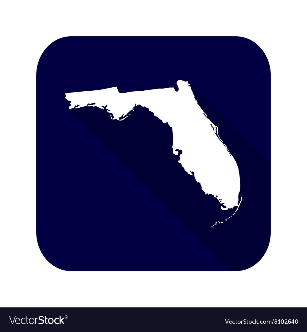 Map of the US state of Florida