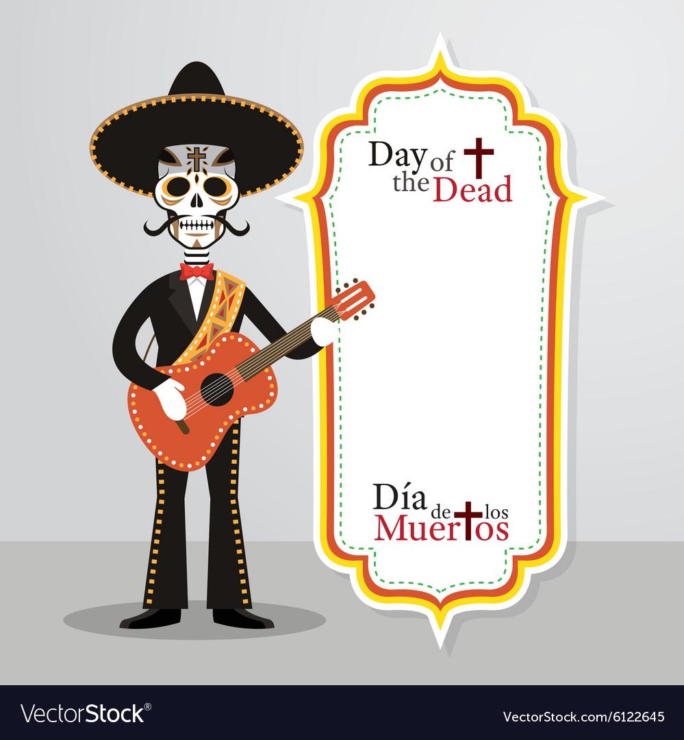 Day of the Dead Skull Mariachi