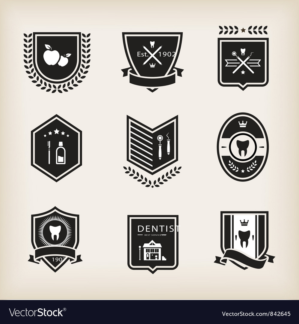 Dentist badges
