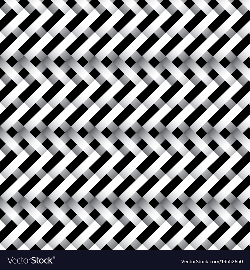 Black and white abstract figures icon vector image